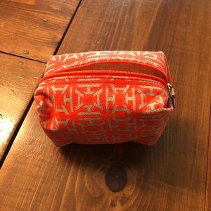 India Hicks printed cosmetic bag